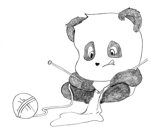Panda Knitting