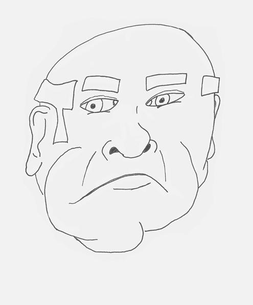 Upset Old Man
