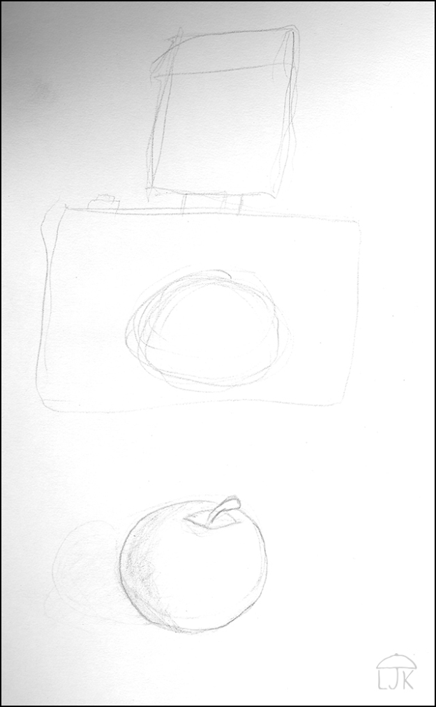 Apple with Camera