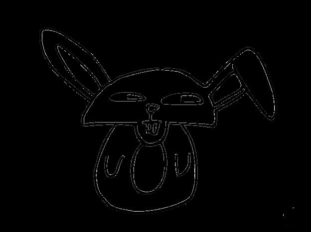 Suspicious Bunny (Inked)