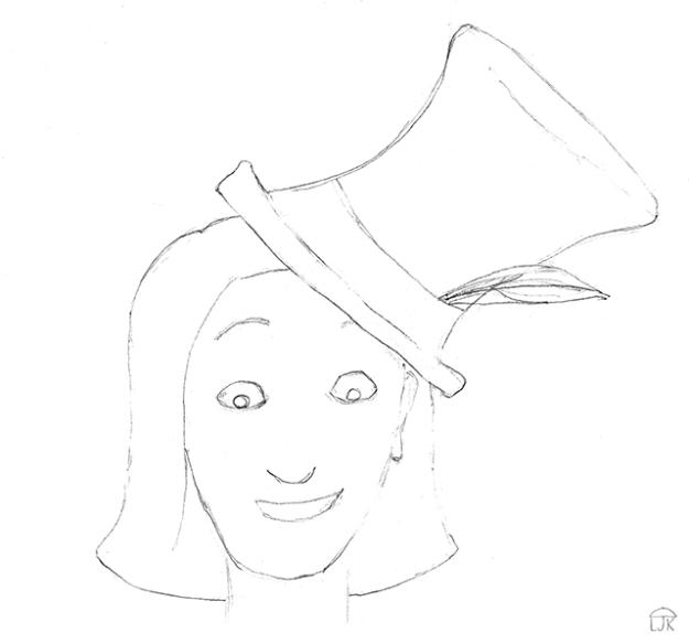 Tilted Hat