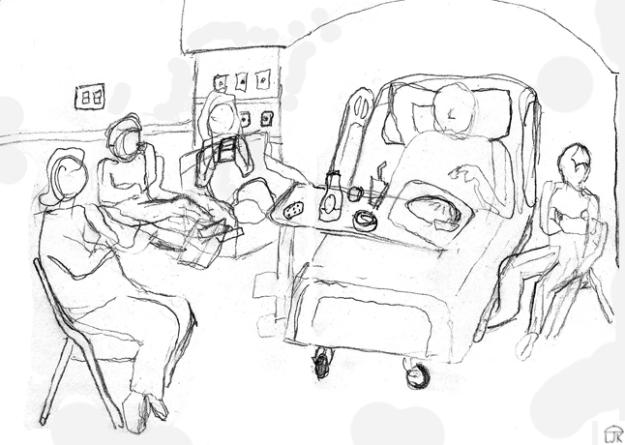 Grandpa in Hospital